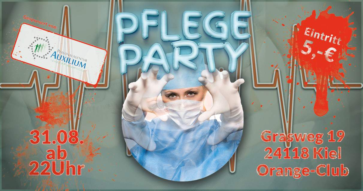 Pflegeparty am 31.08.2018